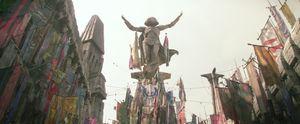Maz's Statue.