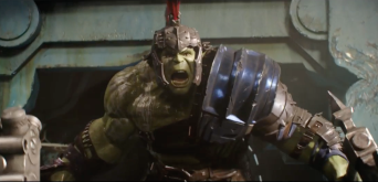 Hulk in his armour.