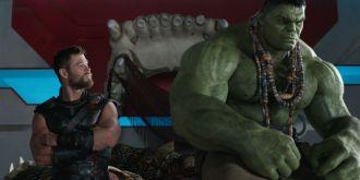 Thor & Hulk after their battle.