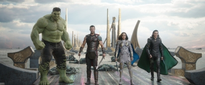 Hulk, Thor, Valkyrie & Loki (The Revengers)