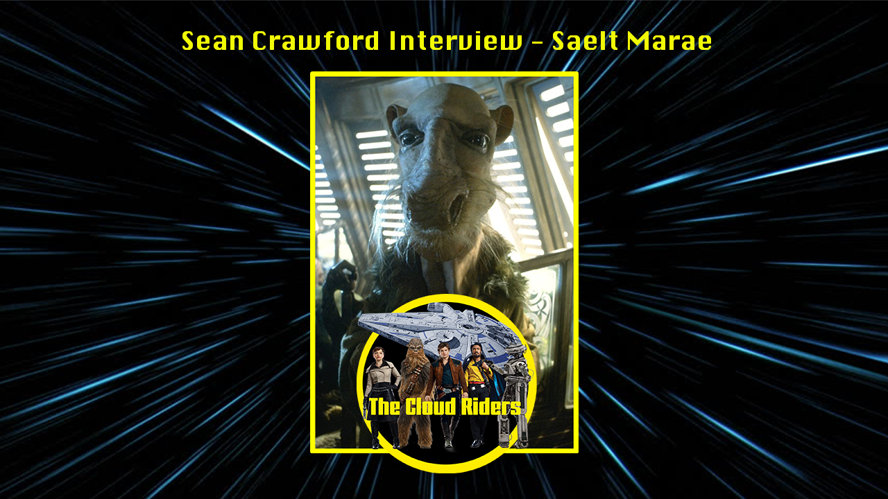 Star Wars Photo Sean Crawford in person signed autograph Saelt-Marae