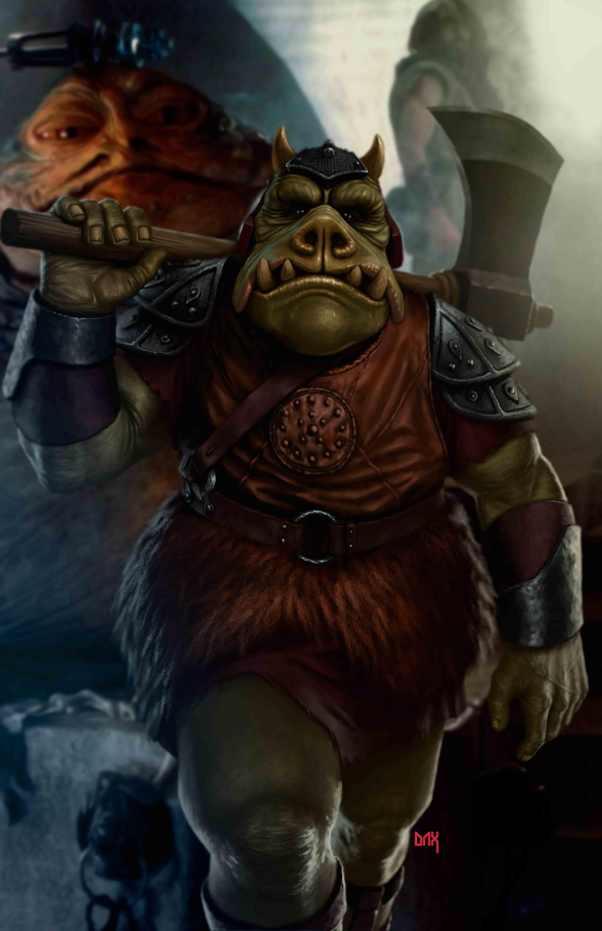 Stephen costantino interview gamorrean guard - Star wars gamorrean guard ...